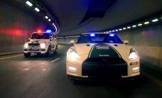Video: Dubaijas policija atkal izrāda savu lepno auto parku