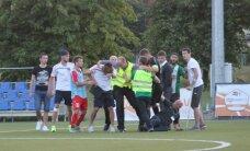 LFF nesoda 'Skonto' un 'Metta'/ LU par saķeršanos pēc spēles