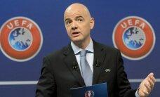 UEFA ģenerālsekretārs Infantino kļūst par sesto FIFA prezidenta amata kandidātu