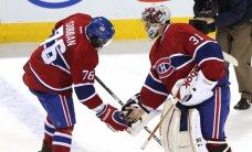 'Canadiens' vārtsargs Praiss otro reizi šosezon nosaukts par NHL nedēļas labāko spēlētāju
