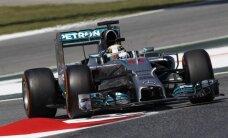 Krievijas GP otrajā treniņā ātrākais Hamiltons