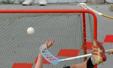 Latvijas izlases florbolisti pārbaudes mačā sagrauj Slovākijas valstsvienību