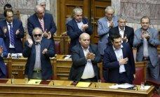 Eirozonas finanšu ministri apstiprina Grieķijas glābšanas programmu
