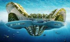Kādā pasaulē dzīvosim nākotnē: peldošo pilsētu projekti