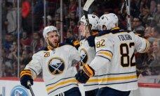 Girgensons un 'Sabres' NHL sezonu noslēdz ar ceturto uzvaru piecos mačos; Ķēniņš nosūtīts AHL