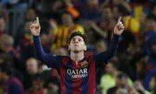 Foto: Mesi nodrošina 'Barcelona' uzvaru pār 'Bayern'