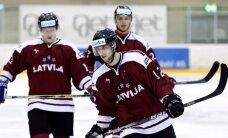 Nosaukts Latvijas hokeja izlases kandidātu saraksts pirmajām spēlēm ar Zviedriju