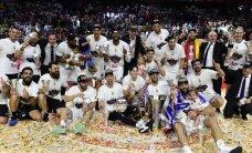 Madrides 'Real' devīto reizi triumfē Eirolīgas turnīrā