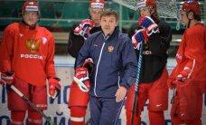 Krievijas izlase pieteikumā PČ atstās vietas NHL spēlētājiem