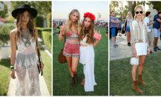 Foto: Iedvesmojies vasarai! Leģendārā 'Coachella' festivāla viesu stils