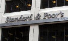 'Standard&Poor's' Latvijas kredītreitingu saglabā 'A-' līmenī; IKP pieaugšot par 2%