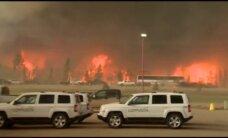 Kanādā turpinās postoši mežu ugunsgrēki