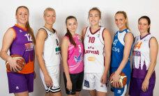 Latvijas sieviešu basketbolu komandu septiņnieks uzsāk sezonu