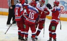 Krievijas hokejisti ar uzvaru 'bullīšos' sāk Eirotūres trešo posmu