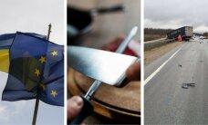 20 апреля. ЕК предложила отменить визы для украинцев, положение бизнеса в Латвии, трагическое ДТП