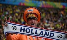 Rīgā ieradīsies vairāk nekā tūkstotis Nīderlandes futbola līdzjutēju