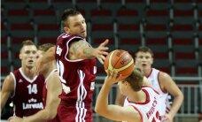 Latvijas vīriešu basketbola izlase neoficiālā pārbaudes spēlē cīnās neizšķirti ar Horvātiju