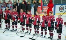 Atceltas Latvijas hokeja izlases februārī paredzētās pārbaudes spēles