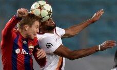 Savainojumu nomocītais Cauņa izgājis laukumā CSKA pirmssezonas pārbaudes spēlē