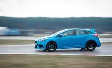Foto: Trasē '333' prezentēts jaunais 'Ford Focus RS'