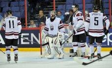 Latvijas hokejisti mačā ar vicečempioni Slovākiju cenšas pārtraukt neveiksmju sēriju