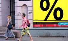 'Eurostat': Latvijā martā mazākais mazumtirdzniecības pieaugums ES