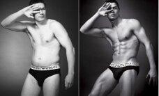 Kā parasti vīrieši izskatās stilīgās reklāmās