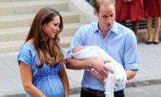 Ne tikai grūtniece Keita: citas karaliskās māmiņas un bērni