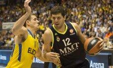 'Real Madrid' basketbolisti kā pirmie iekļūst Eirolīgas 'Final Four'