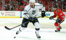 Losandželosas 'Kings' kapteinis par NHL konferences finālsērijas maču: mēs uzvarējām mistisku pūķi