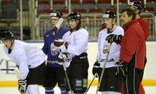 Latvijas hokeja izlase pārbaudes spēlē tiekas ar Somiju