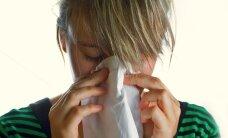Gripas aktivitāte samazinās