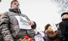 В Вильнюсе акция памяти Немцова собрала 200 человек