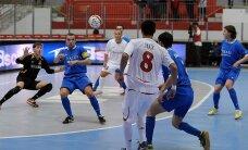 'Nikars' futzālistiem otrā uzvara Rīgā notiekošajā UEFA kausa pamatsacensību turnīrā