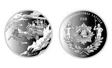 Apgrozībā nonāks Latvijas ugunsdzēsības 150 gadu jubilejai veltīta monēta