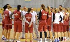 Latvijas sieviešu basketbola izlase pēdējā spēlē pirms EČ kvalifikācijas turnīra zaudē Zviedrijai