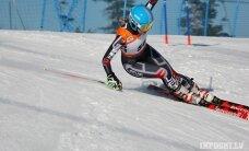 Kalnu slēpotājai Gasūnai otrā uzvara šosezon FIS sacensībās slalomā