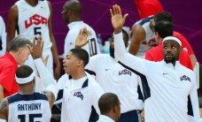 ASV basketbola valstsvienība pārliecinoši uzvar Franciju