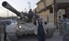 Irākas spēki sāk ofensīvu netālu no 'Daesh' bastiona Mosulas