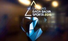 Nosaukti pretendenti uz Latvijas Gada balvu sportā 2015