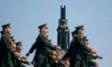 В Северной Корее прошел мирный парад