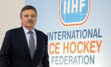 Fāzels kārtējo reizi pārvēlēts IIHF prezidenta amatā