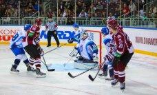 Foto: Rīgas 'Dinamo' 'Latvijas Dzelzceļa' kausa ieskaņā gūst vienus vārtus