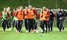 Latvijas futbola izlase Amsterdamā bez lielas ažiotāžas gatavojas spēlei ar Nīderlandi