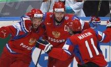 Krievijas hokeja izlase pieteikusi pirmos 17 spēlētājus pasaules čempionātam
