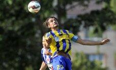Divi Karlsona vārti ļauj 'Ventspils' futbolistiem pārliecinoši pieveikt 'Daugavpili'