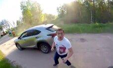 Motociklistiem uzklupušais dzērājšoferis izrādījies 'Vienotās Krievijas' deputāta kandidāts