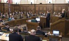 Rinkēvičs ārpolitikas debatēs sabar Sudrabu
