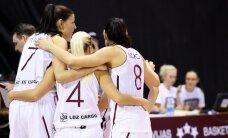 Latvijas basketbolistes EČ kvalifikācijas turnīra mačā zaudē Slovēnijai