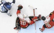 Ungārijas hokejisti izrāda cienījamu pretestību Somijai